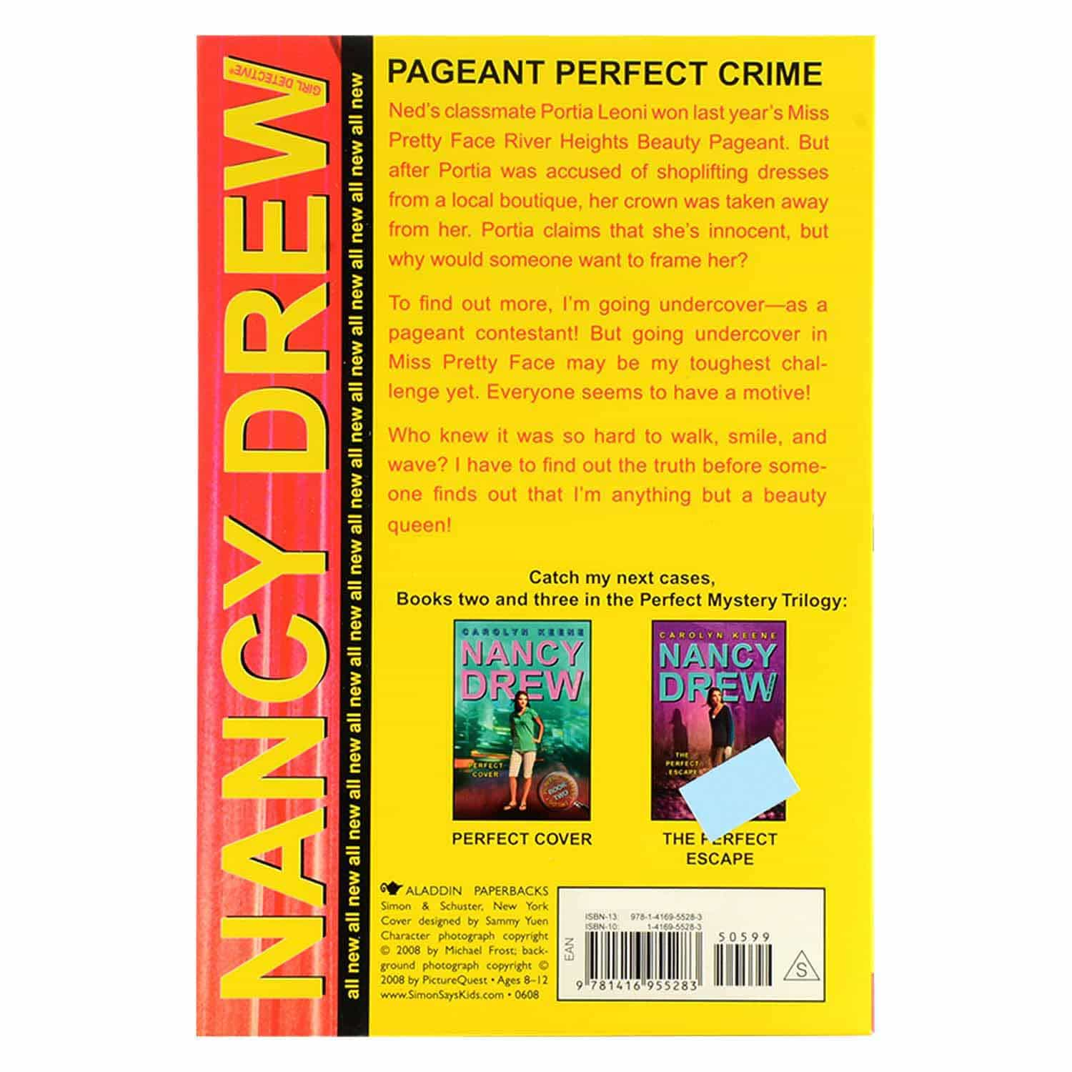 Nancy Drew Series - Pageant Perfect Crime