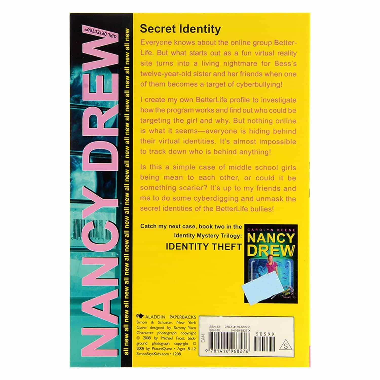 Nancy Drew Series - Secret Identity