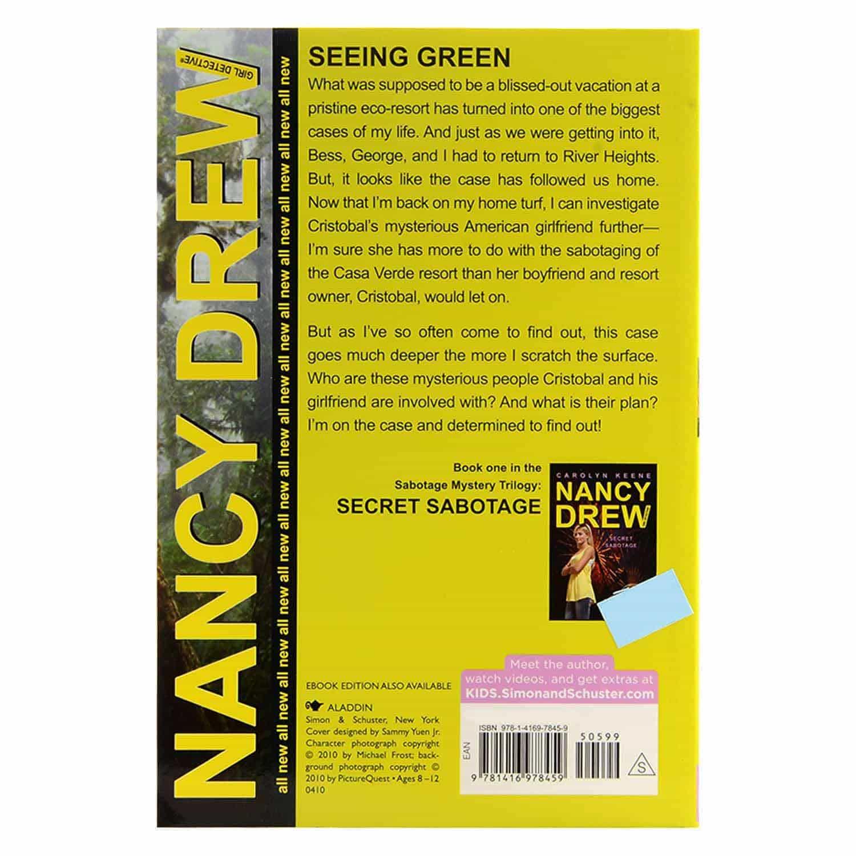 Nancy Drew Series - Seeing Green