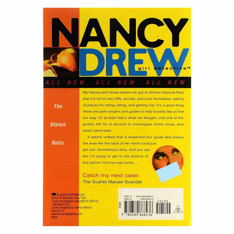 Nancy Drew Series - #7 The Stolen Relic