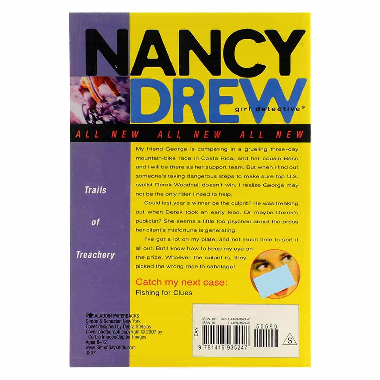 Nancy Drew Series - #25 Trails of Treachery