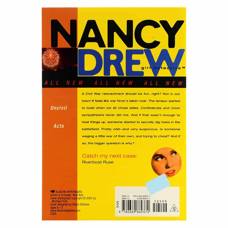 Nancy Drew Series - #10 Uncivil Acts
