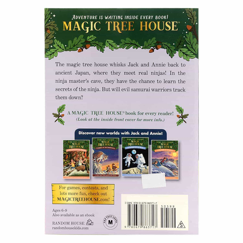 Magic Tree House Series - #5 Night of the Ninjas