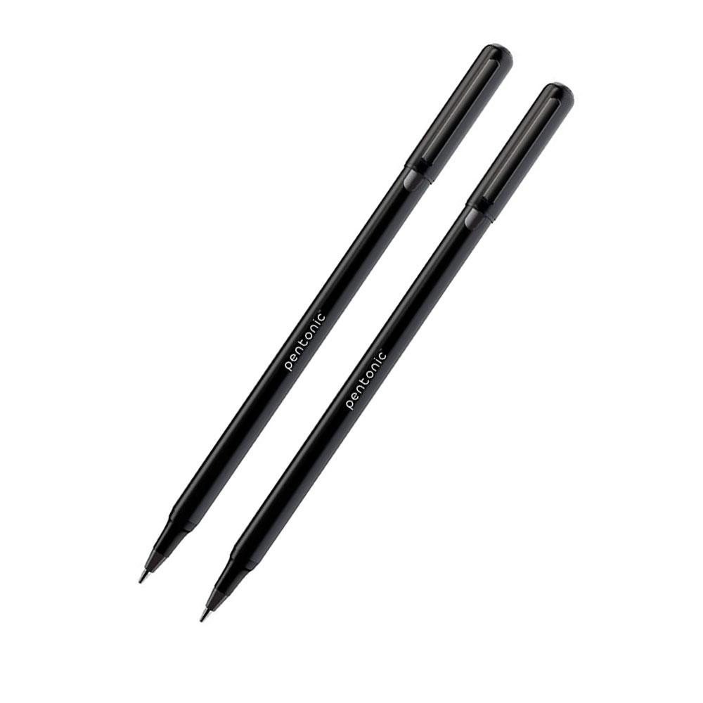 Pentonic Linc 0.7mm Black Ball Point Pen (Pack of 10 Pens)