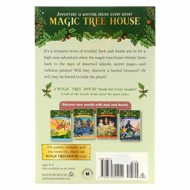 Magic Tree House Series - #4 Pirates Past Noon