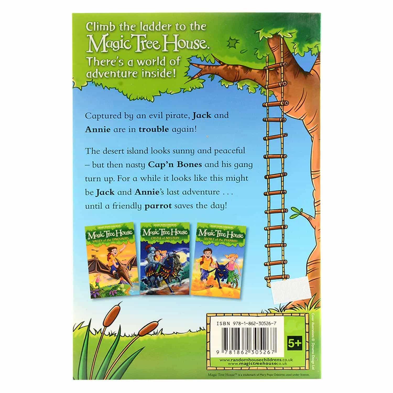 Magic Tree House Series-  Pirates' Treasure