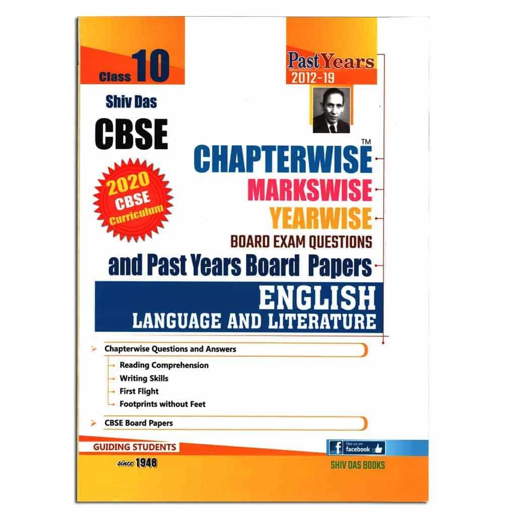 Shiv Das CBSE Boards Exam Questions - English - Class 10