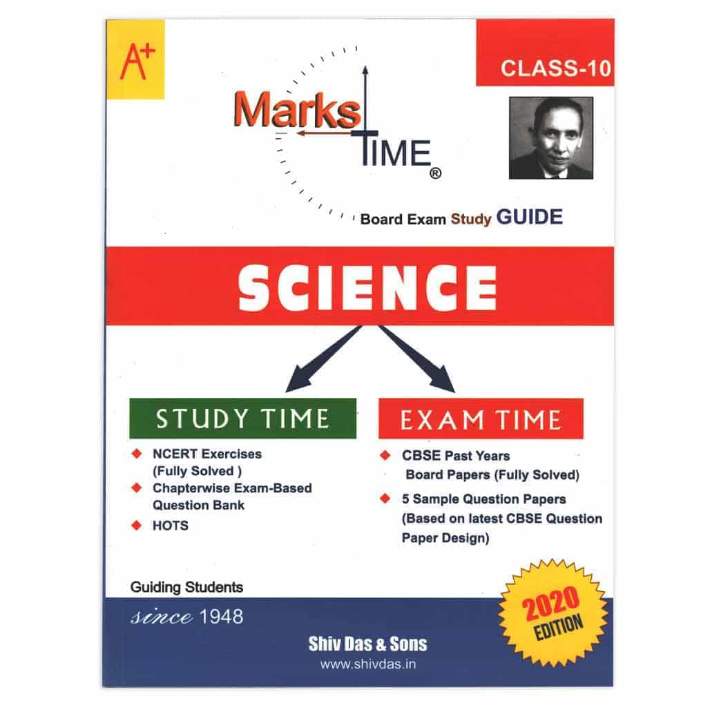 Marks Time CBSE Science Study Guide - Class 10