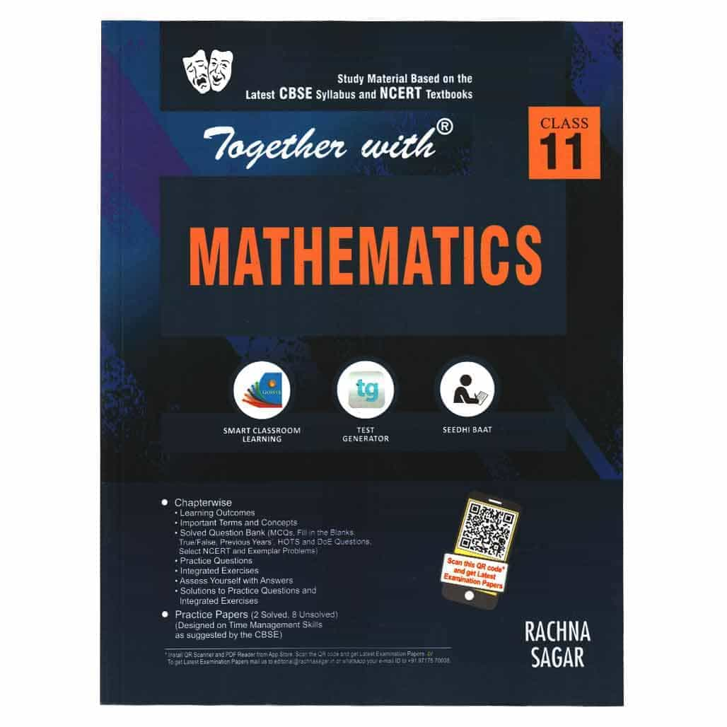 Together with CBSE Model Test Papers Mathematics - Class 11