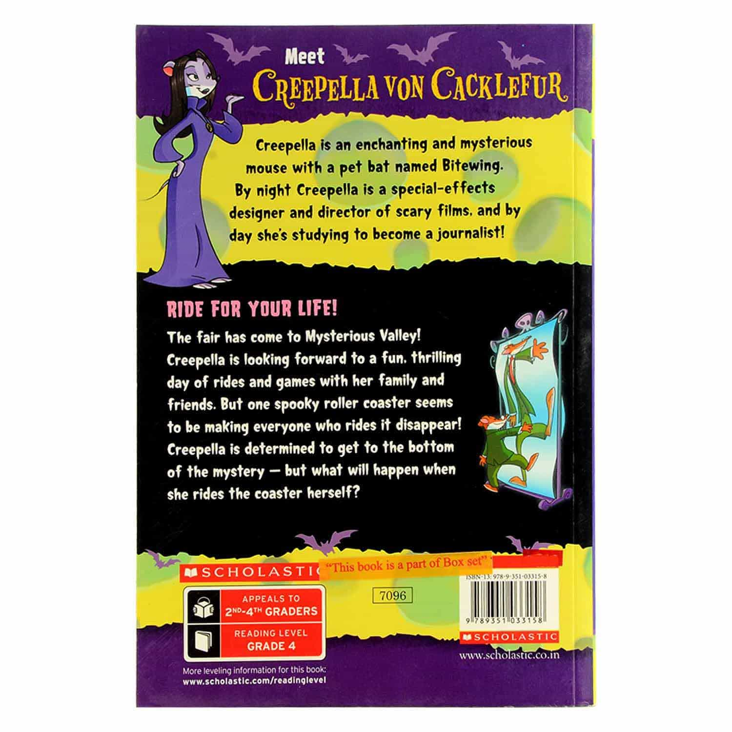 Creepella Von Cacklefur Series - Ride For Your Life