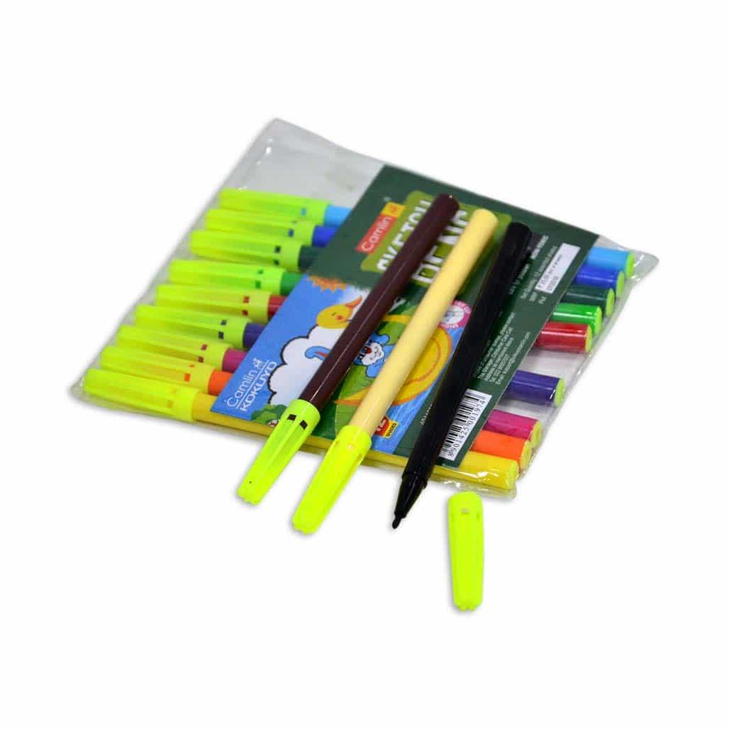 Camlin Sketch Pens - 12 Shades