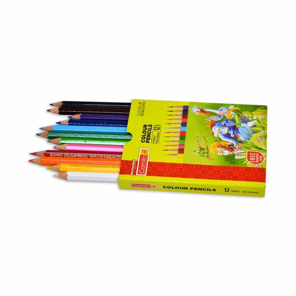 Camlin Color Pencil - 12 Shades