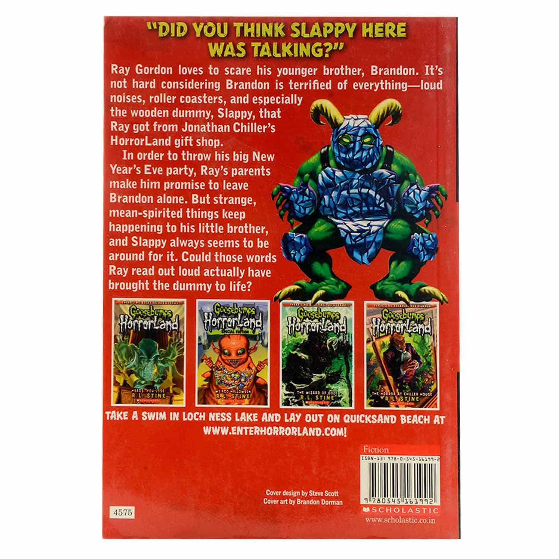 Goosebumps Horrorland Series - Slappy New Year