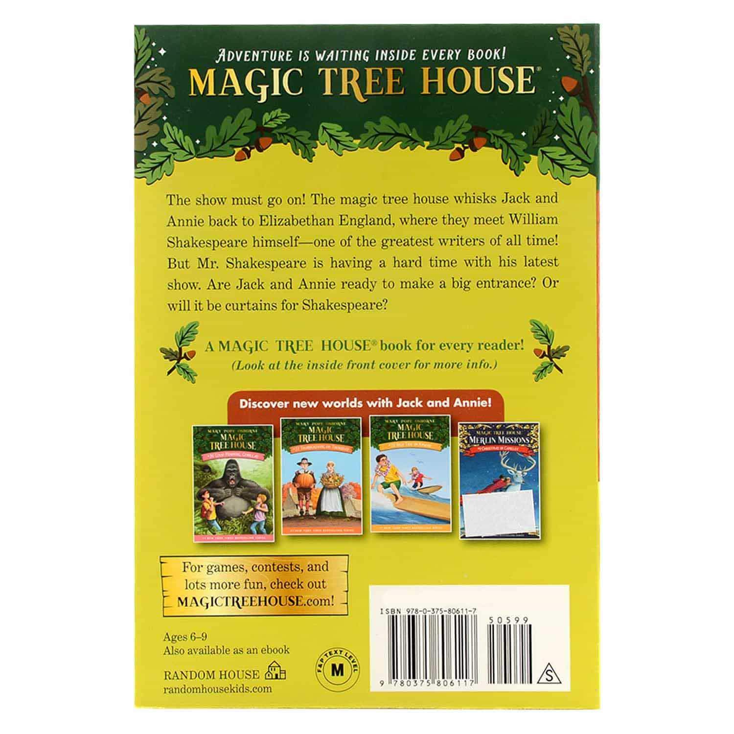 Magic Tree House Series - #25 Stage Fright on A Summer Night