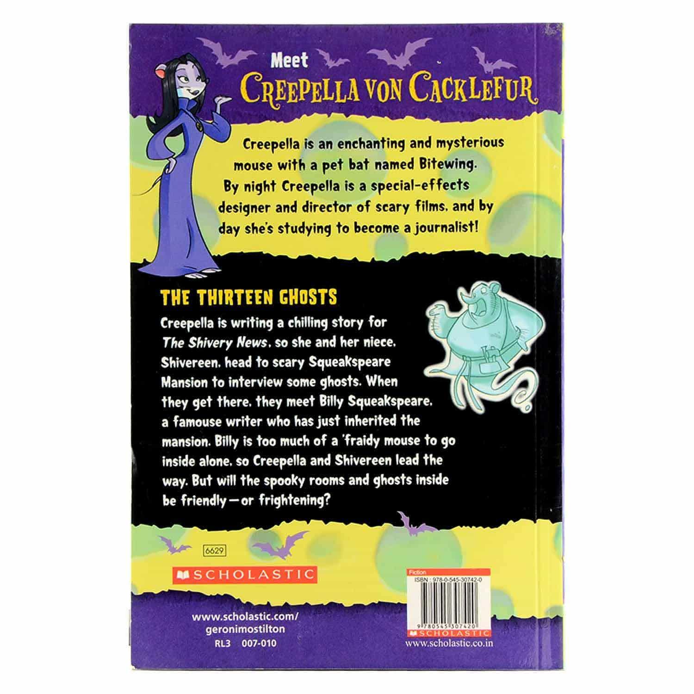 Creepella Von Cacklefur Series - The Thirteen Ghosts