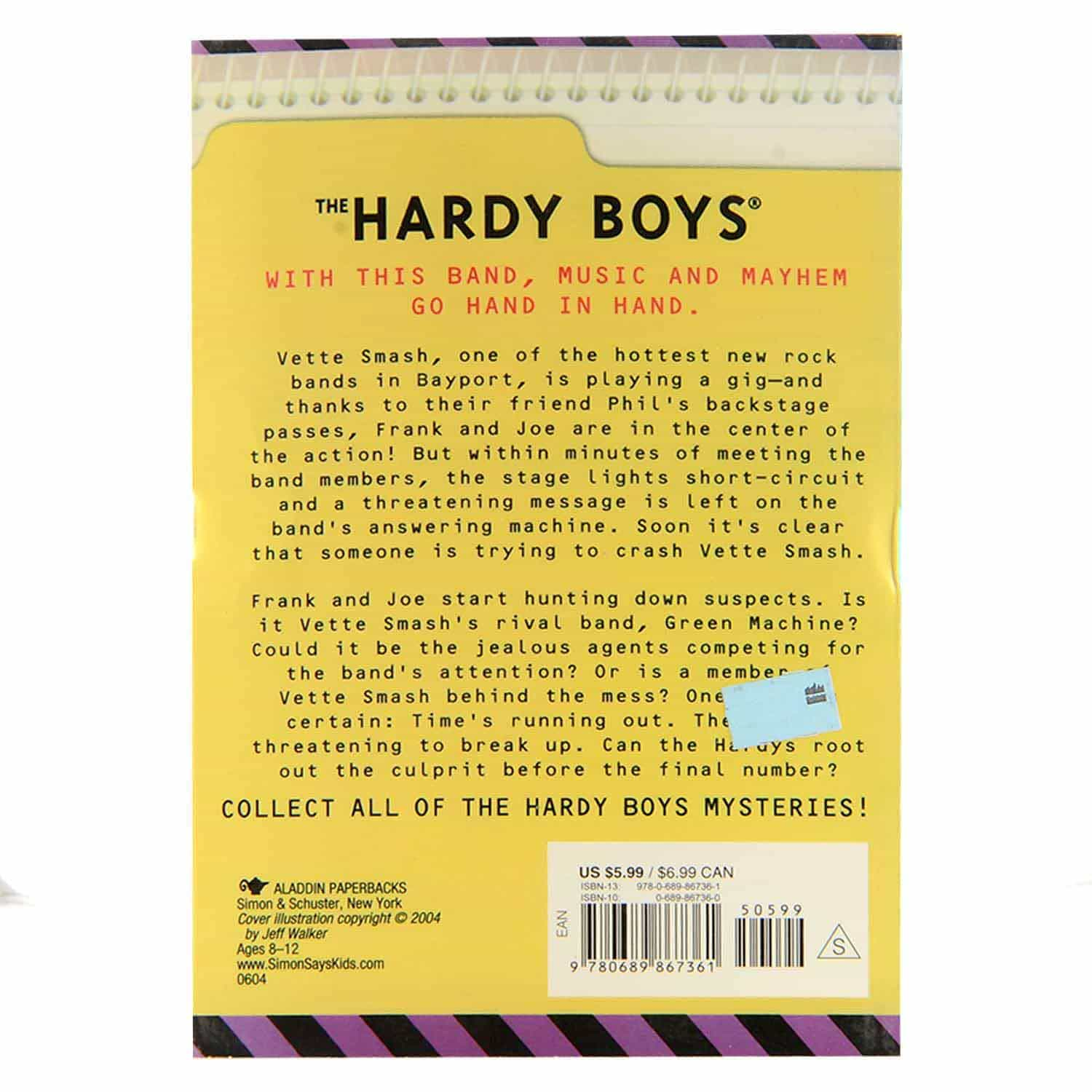 Hardyboys Series - #185 The Wreck and Roll