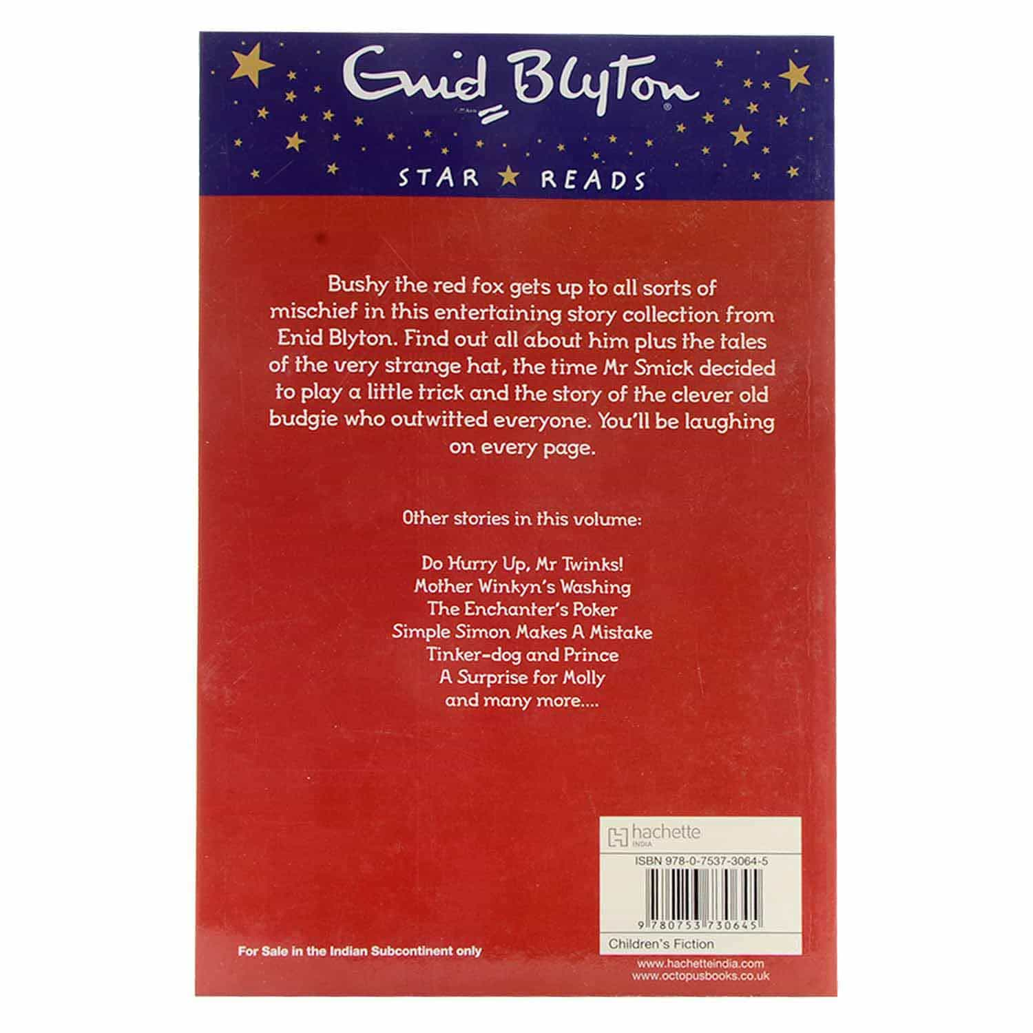 Enid Blyton - The Tale of Bushy the Fox and Other Stories