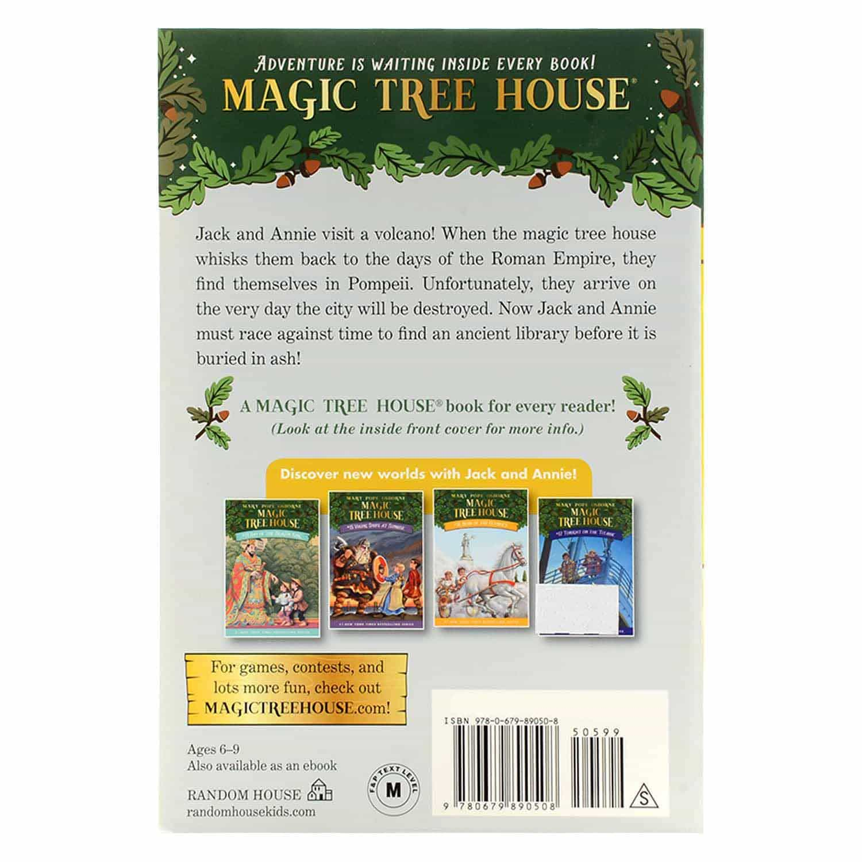 Magic Tree House Series - #13 Vacation Under The Volcano