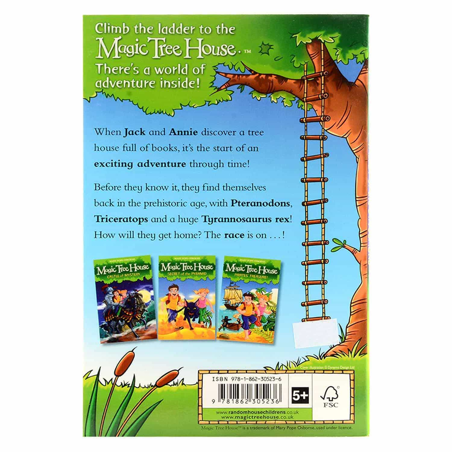Magic Tree House Series - Valley of the Dinosaurs