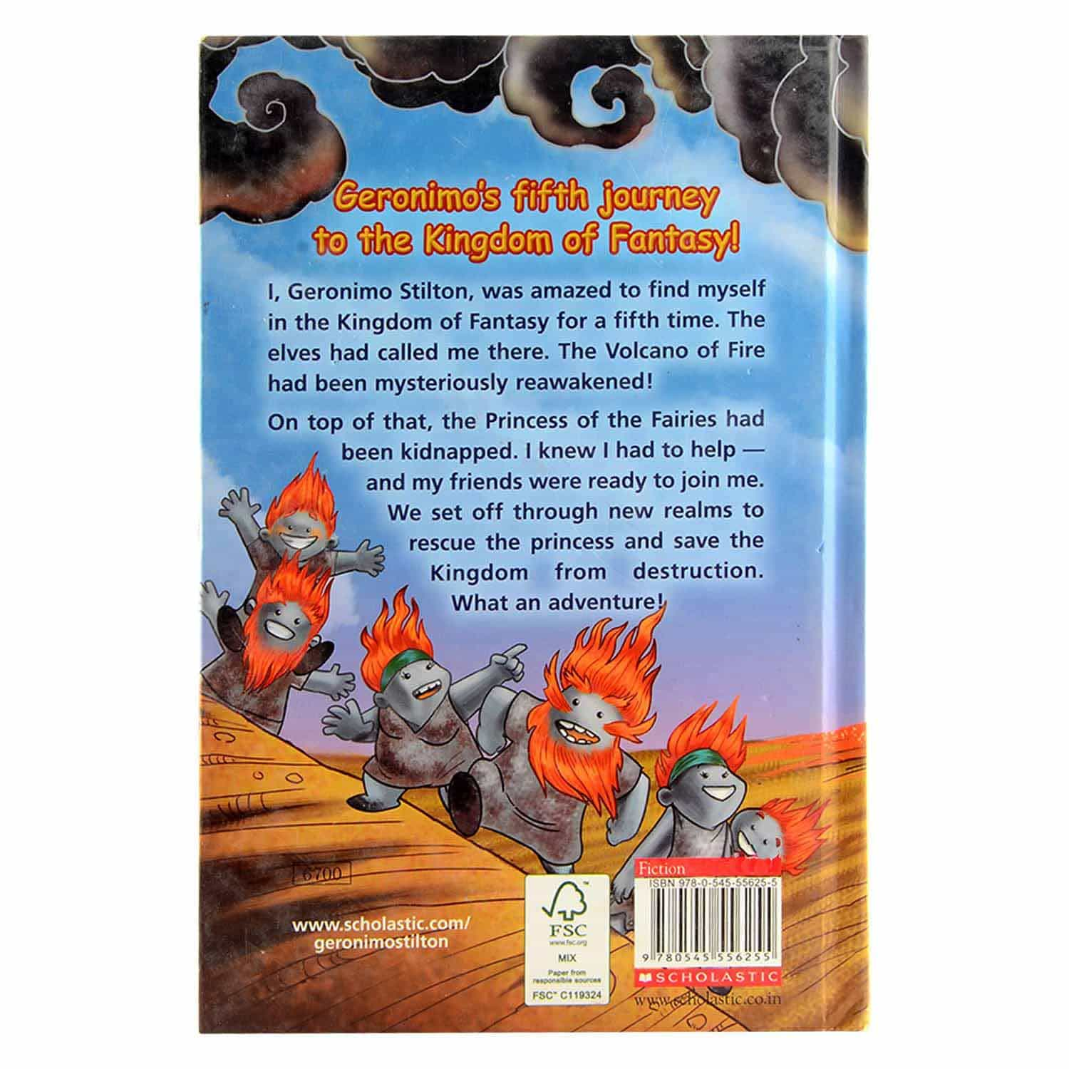 The Volcano of Fire Series -The Fifth Adventure in The Kingdom of Fantasy