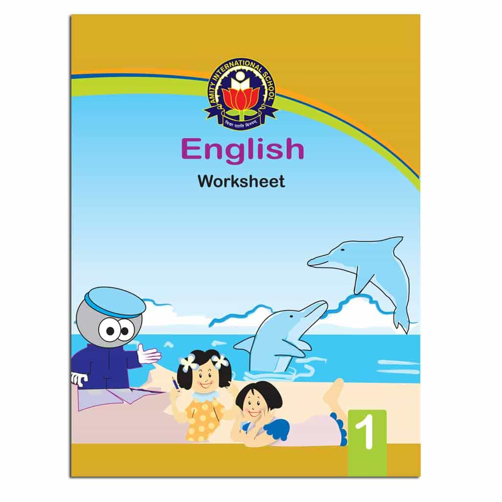 Amity English Worksheets - Class 1