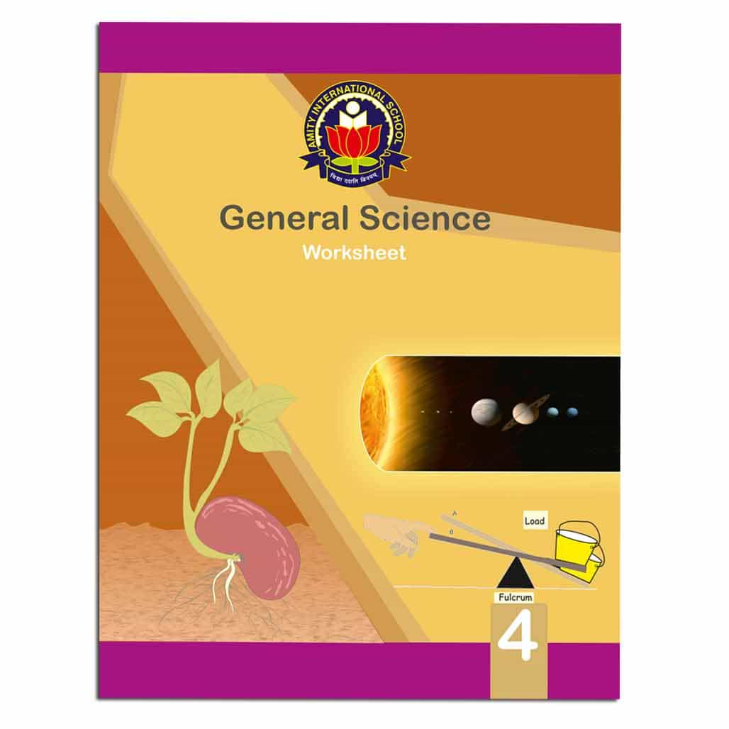 Amity General Science Worksheets - Class 4