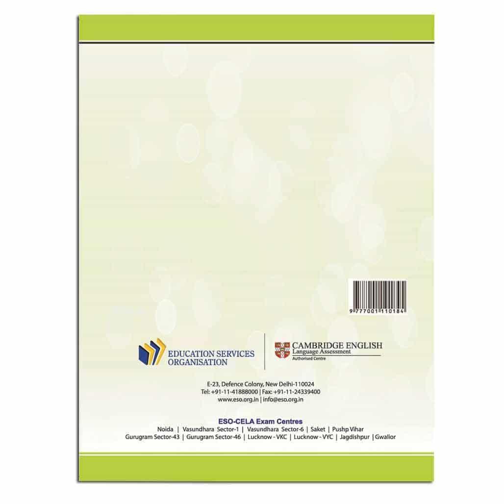 CELA Integrated Worksheet Starters - Class 1