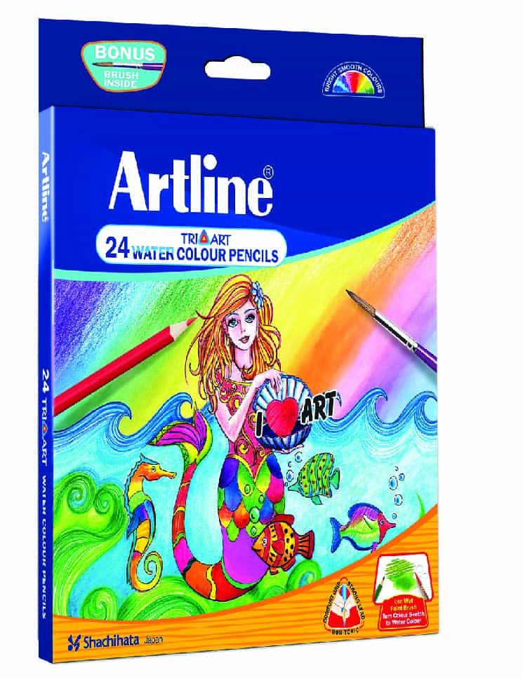 Artline Color Pencils - 24 Shades