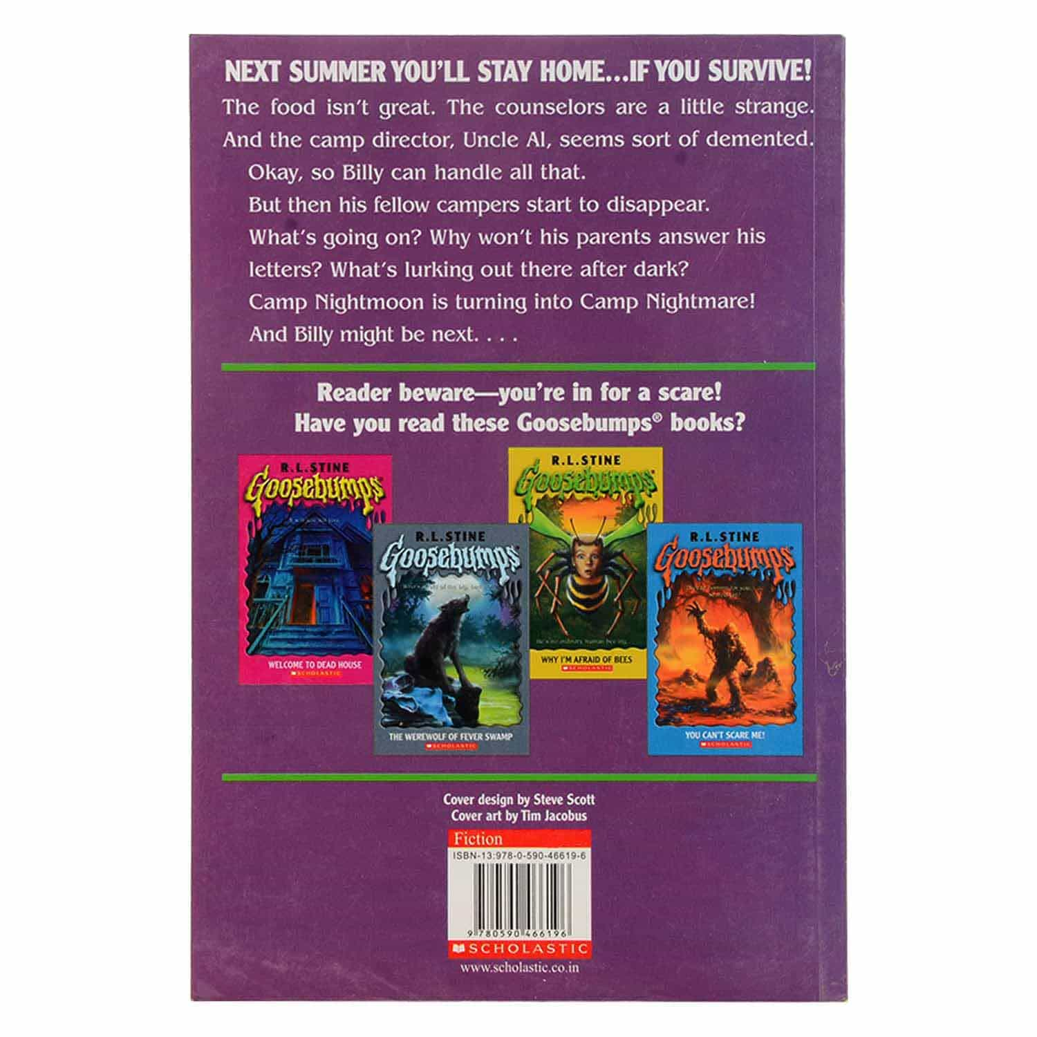 Goosebumps Series - Welcome to Camp Nightmare