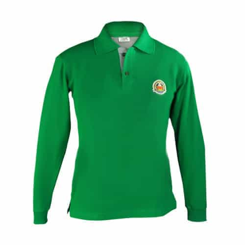 Amity Winter Unisex Green Full Sleeves House T-Shirt - Class 1 to 12