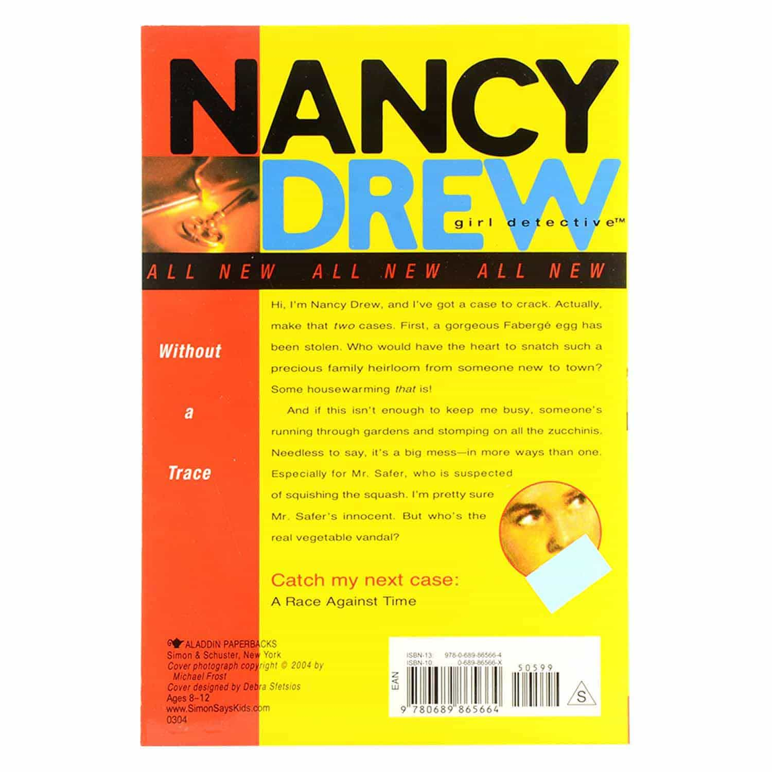 Nancy Drew Series - #1 Without a Trace