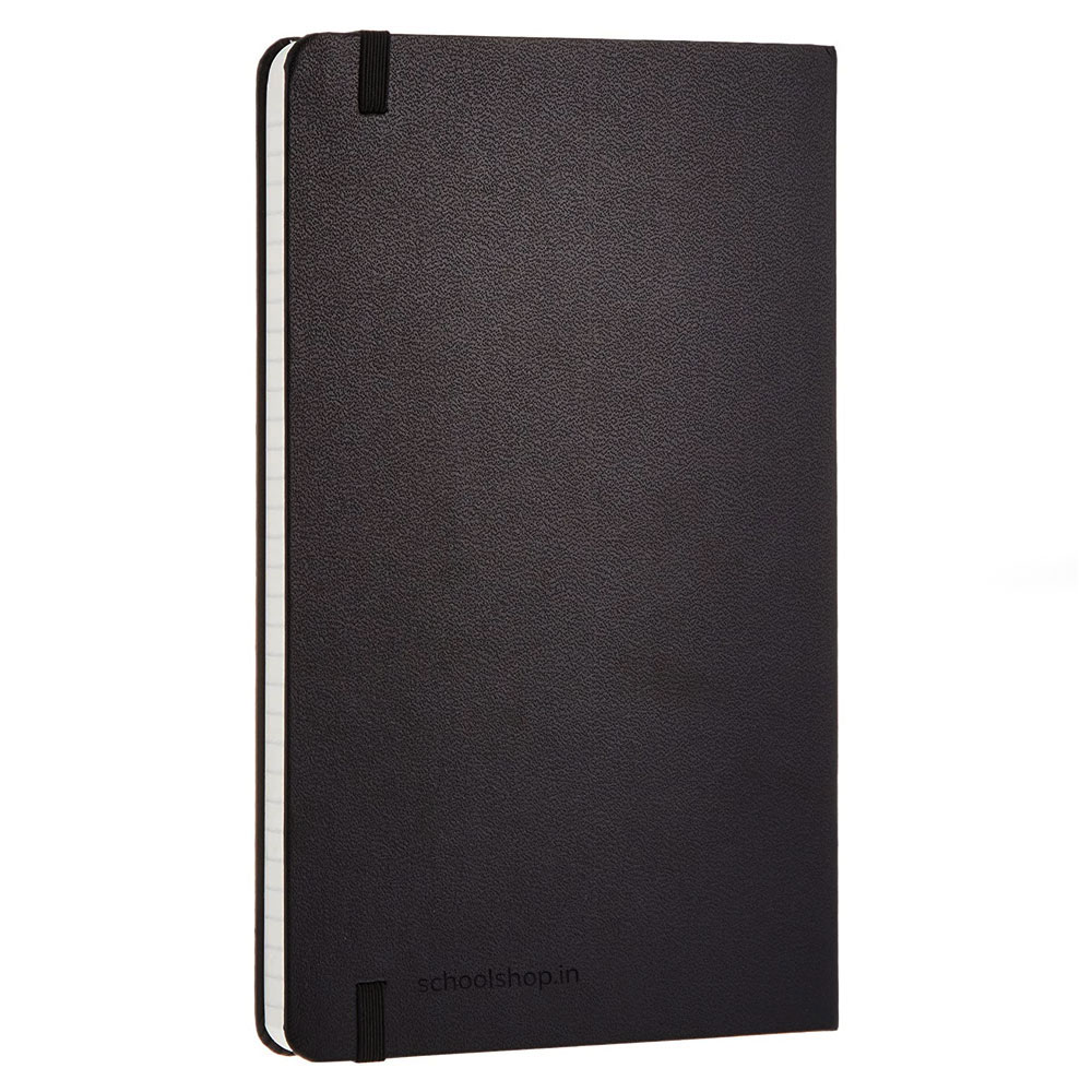 SchoolShop Leatherette A5 Notebook Diary (Ruled 200 Pages)