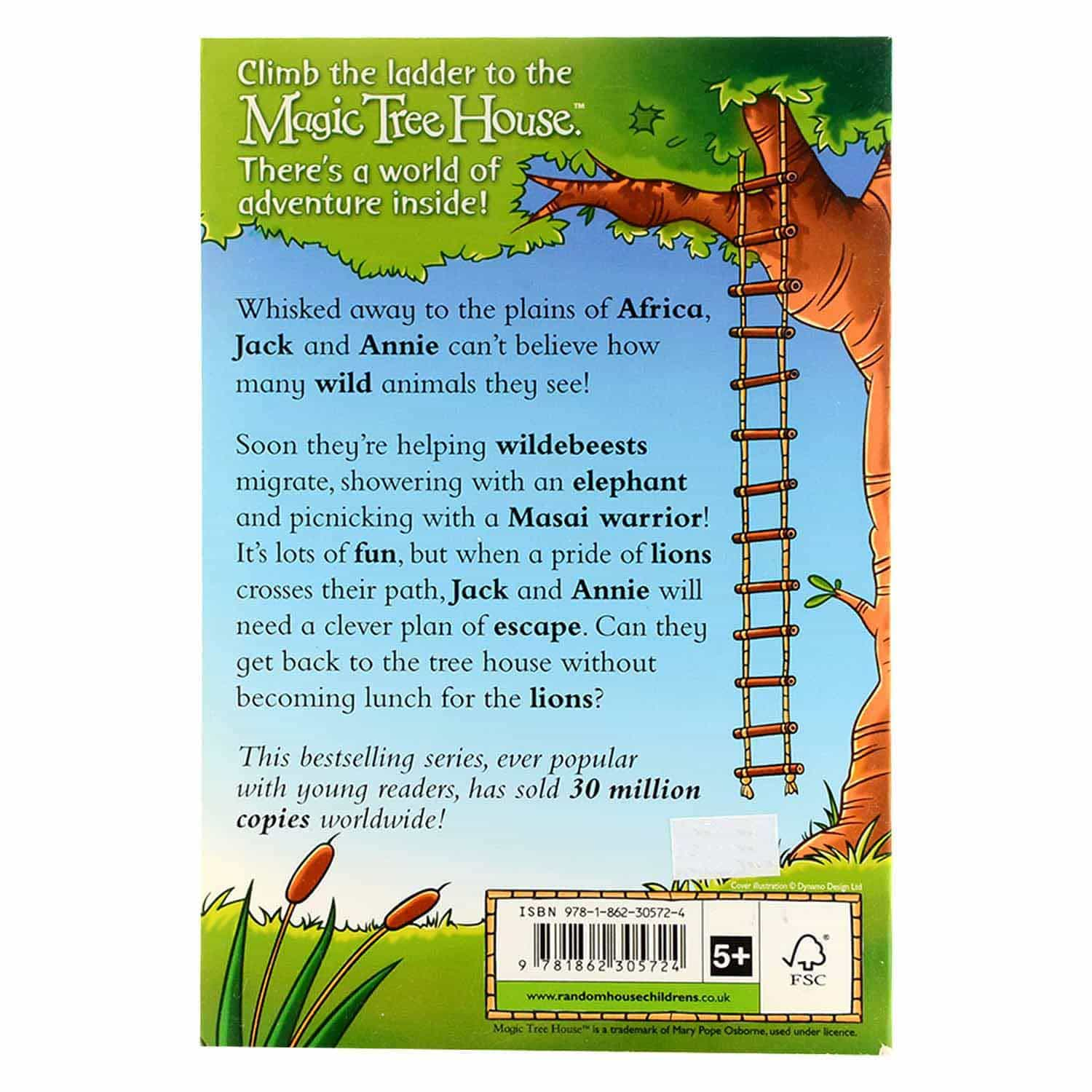 Magic Tree House Series - Lions on the Loose