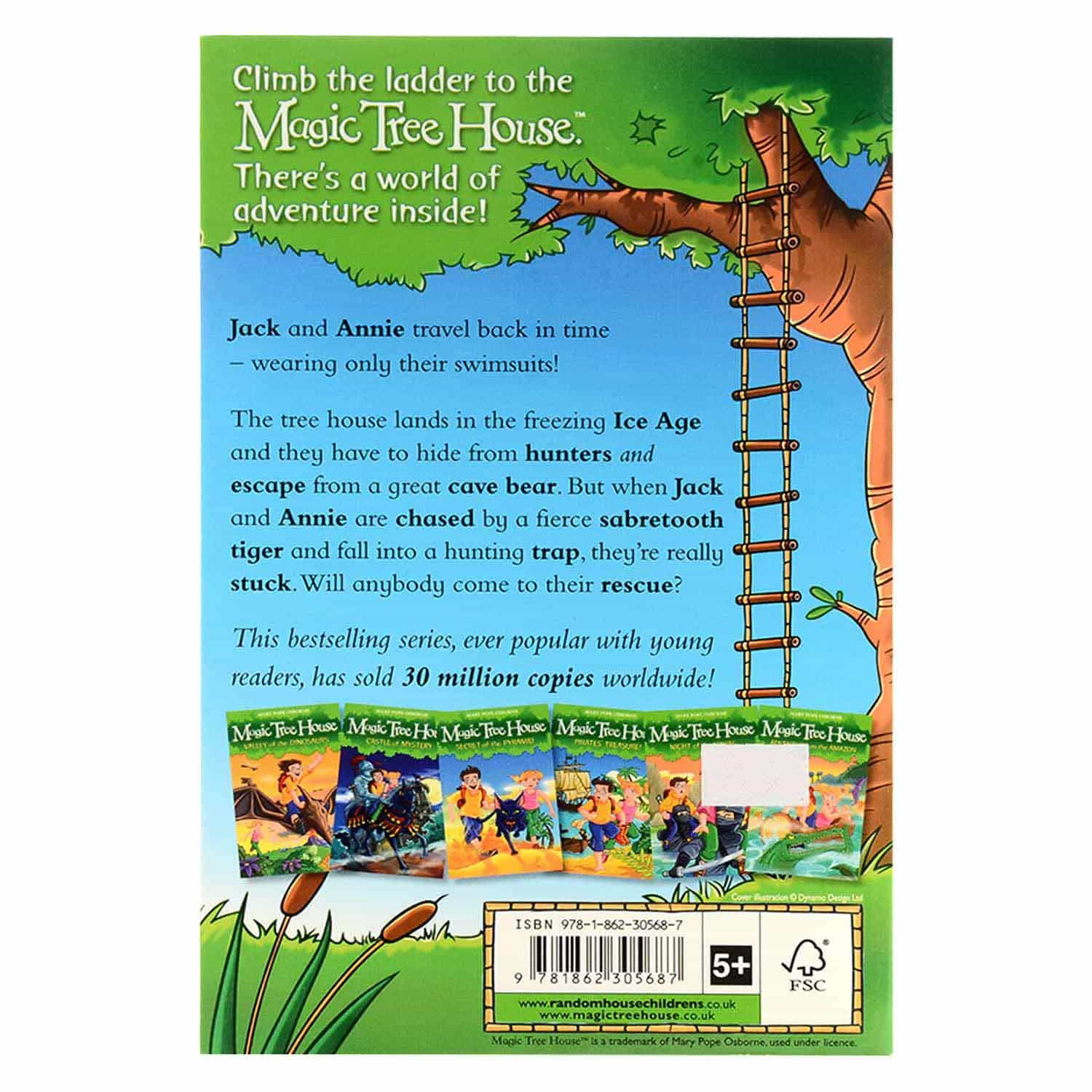 Magic Tree House Series - Mammoth to the Rescue