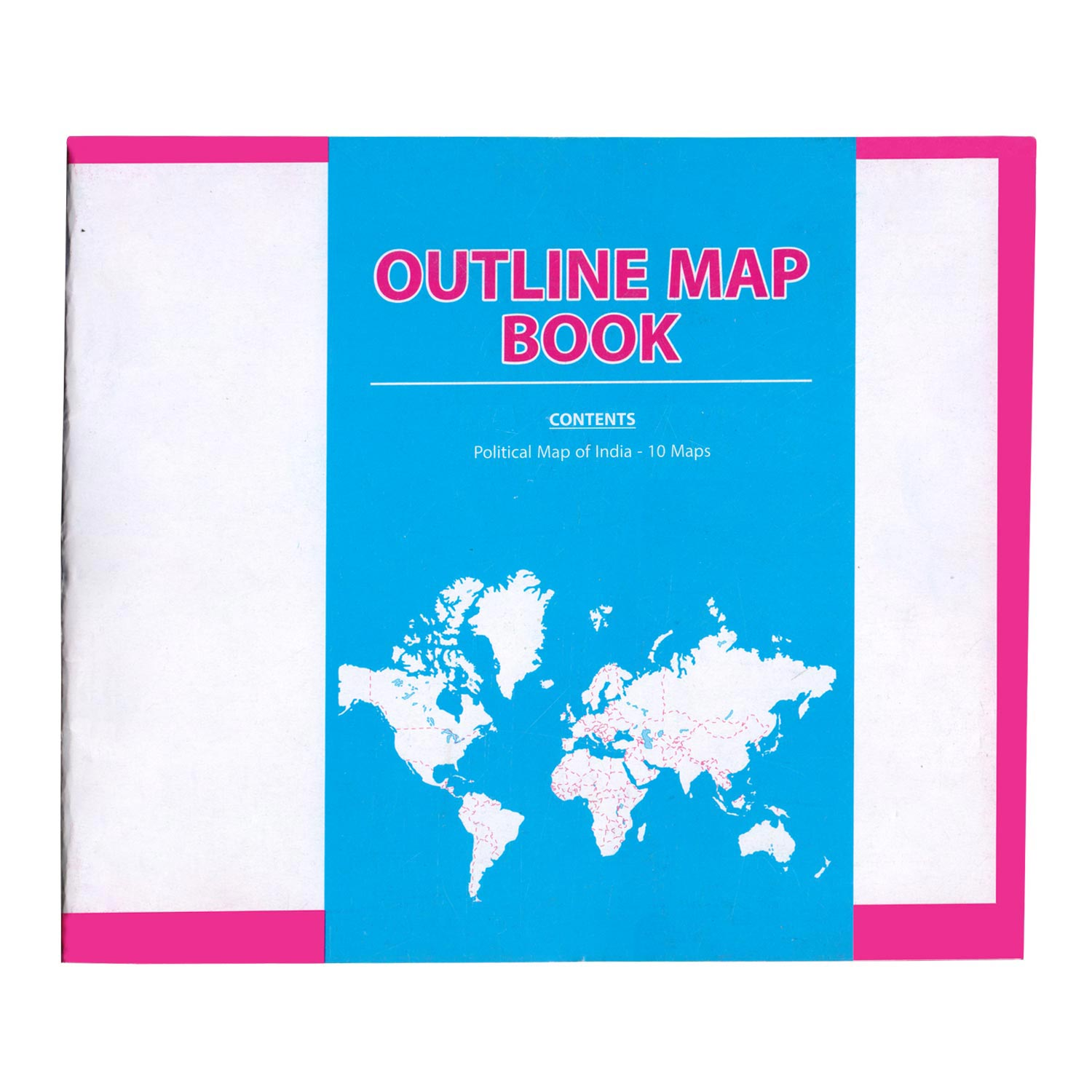 Map Booklet-India Political - Set of 10