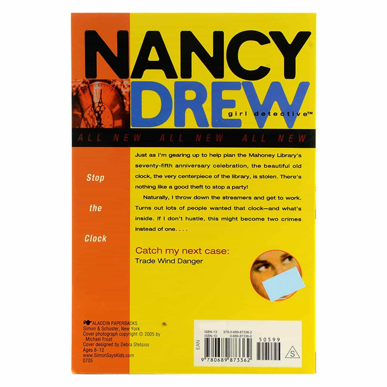 Nancy Drew Series - #12 Stop the Clock