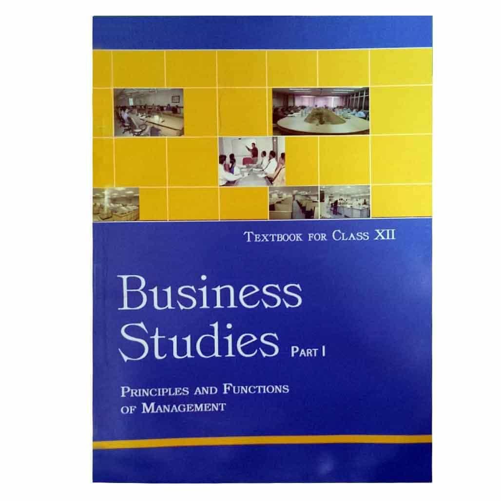NCERT Textbook - Class 12 - Business Studies I