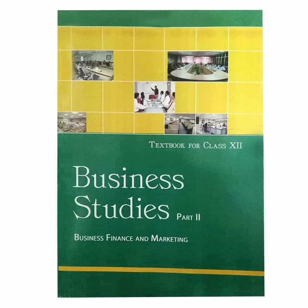 NCERT Textbook - Class 12 - Business Studies II