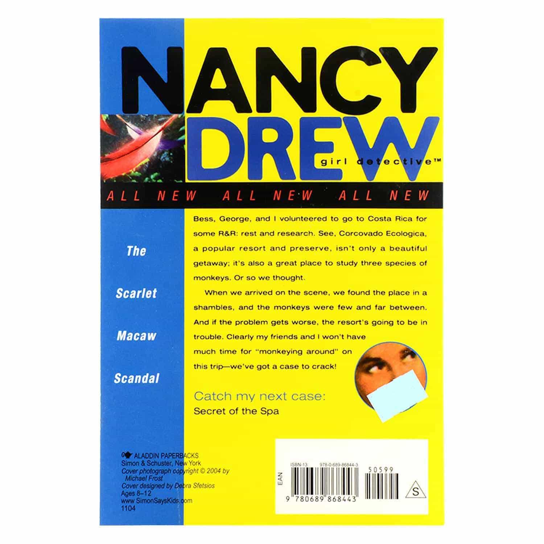 Nancy Drew Series - #8 The Scarlet Macaw Scandal